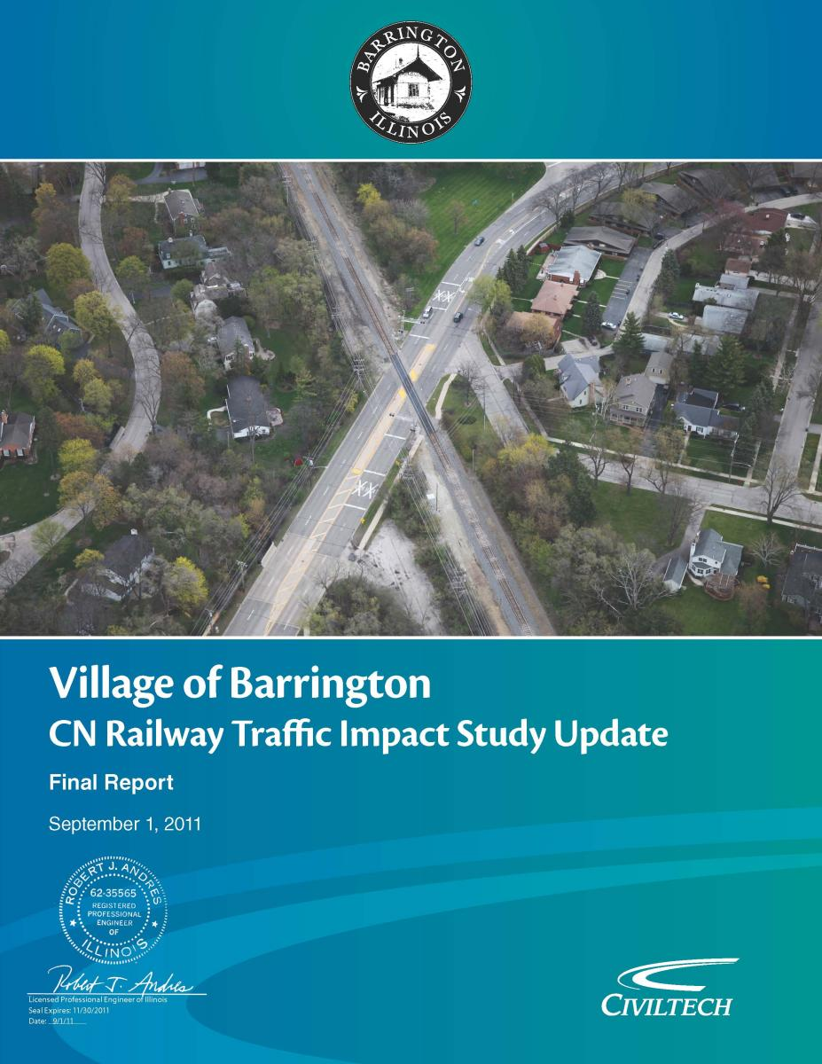 Technical Reports | US 14 / CN Railway